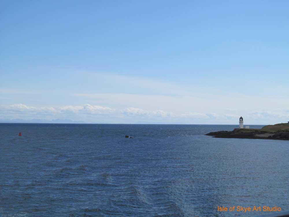 Uig to Stornoway Ferry Trip: Harbour