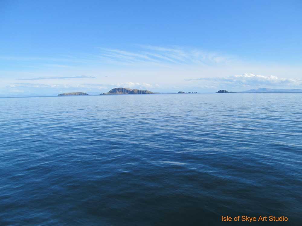 Uig to Stornoway Ferry Trip: Shiant Islands