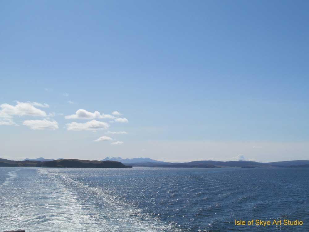 Uig to Stornoway Ferry Trip: Cuillin