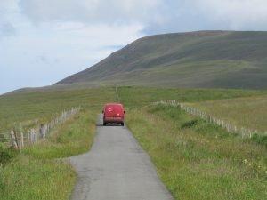 Royal Mail Van Skye Scotland