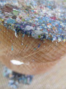 Paint Splatters on Easel #2