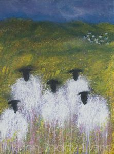 Sheep Painting: The Matriarch