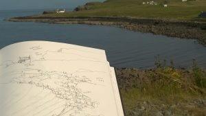 Pen Sketching Skye