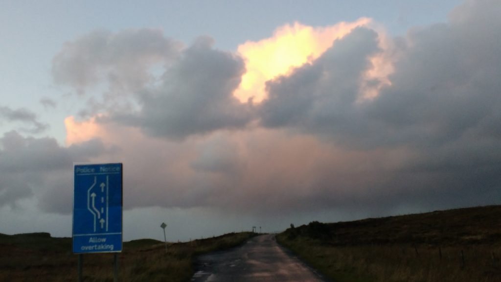 Clouds Over Trotternish 1