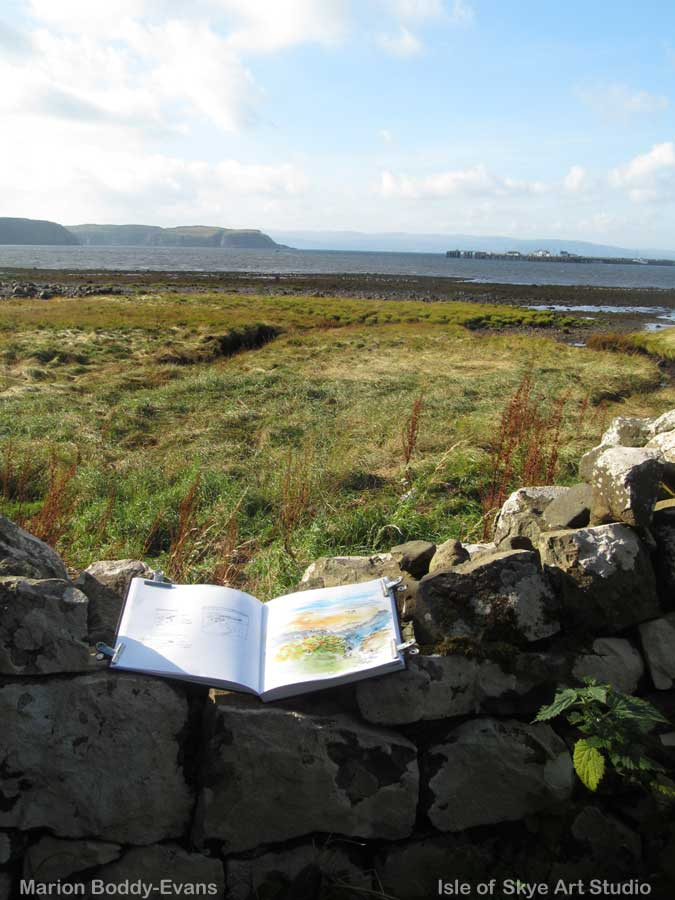 uig-bay-sketch-wall