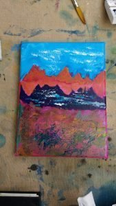 Workshop: Intro to Acrylics