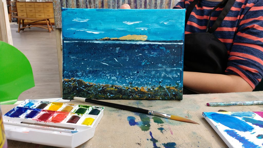Workshop: Intro to Acrylics