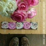 Tiny Rose Paintings