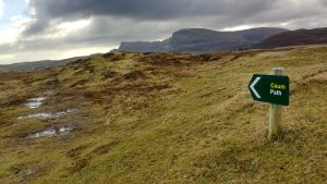 Path Trotternish Rubha Hunish