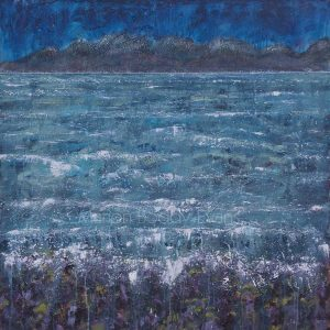 Cross Currents Minch seascape by Marion Boddy-Evans