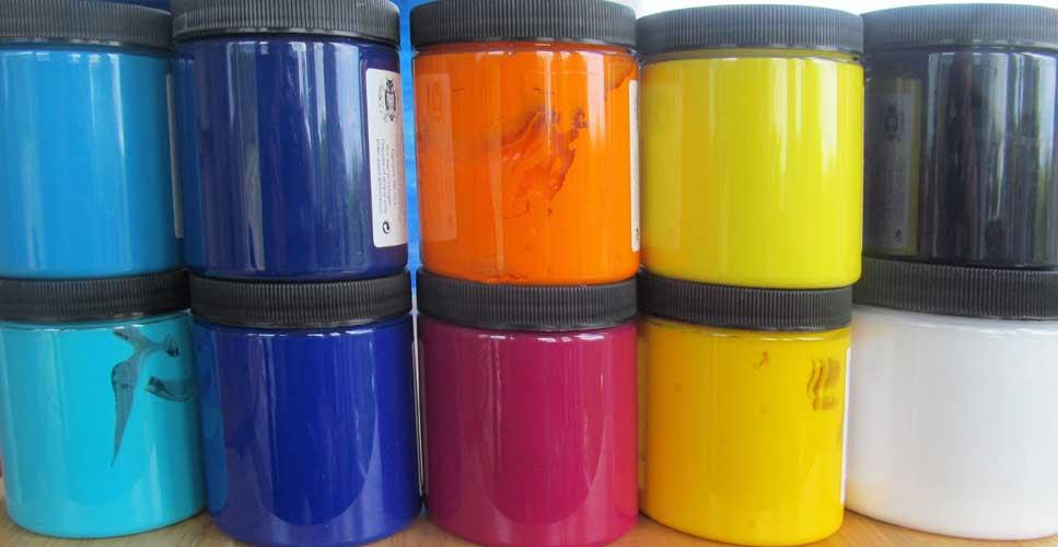 Six Primary Colours
