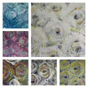 Flower Painting: Symphony in White and Yellow Stages