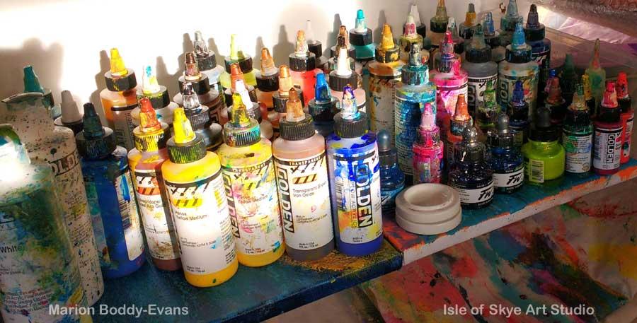 Paint Bottles 2