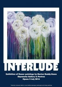 Interlude Painting Exhibition Skyeworks Gallery Portree Skye Marion Boddy-Evans