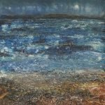 Over the Sea. Seascape painting by Marion Boddy-Evans