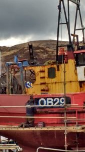 Shipyard Colours at Mallaig