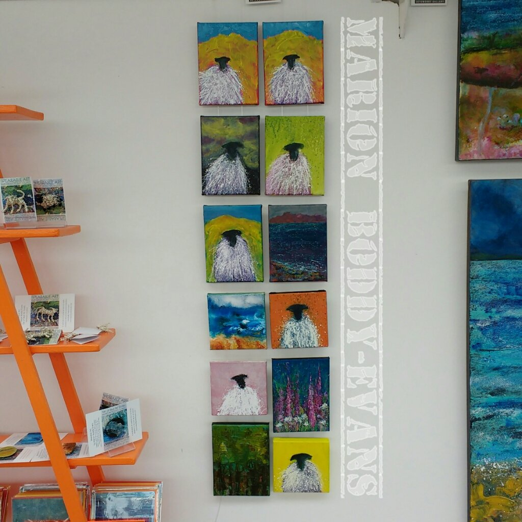 Sheep paintings and more