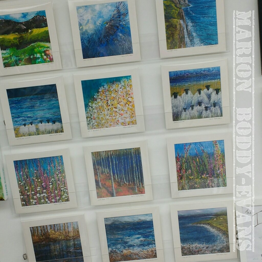 Selection of prints (of larger paintings)