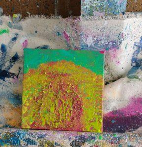Step 2 Small Sheep Painting Sunshine