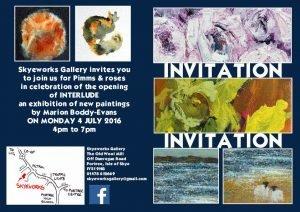 inter;ude Exhibition Invitation