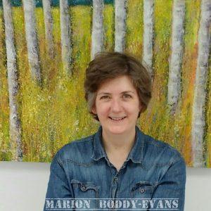 Artist Marion Boddy-Evans