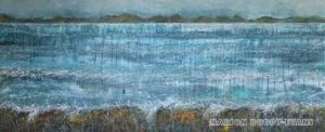 Musing the Minch: Start of Spring seascape painting by Scottish artist Marion Boddy-Evans