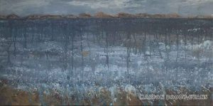 Moods of the Minch: Cold Snap seascape painting
