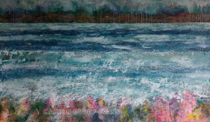 Majestic Minch Seascape by Marion Boddy-Evans