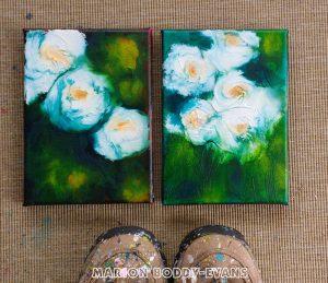 White Roses Studies #1 #2