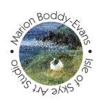 Logo Marion Boddy-Evans Isle of Skye Art Studio Scotland