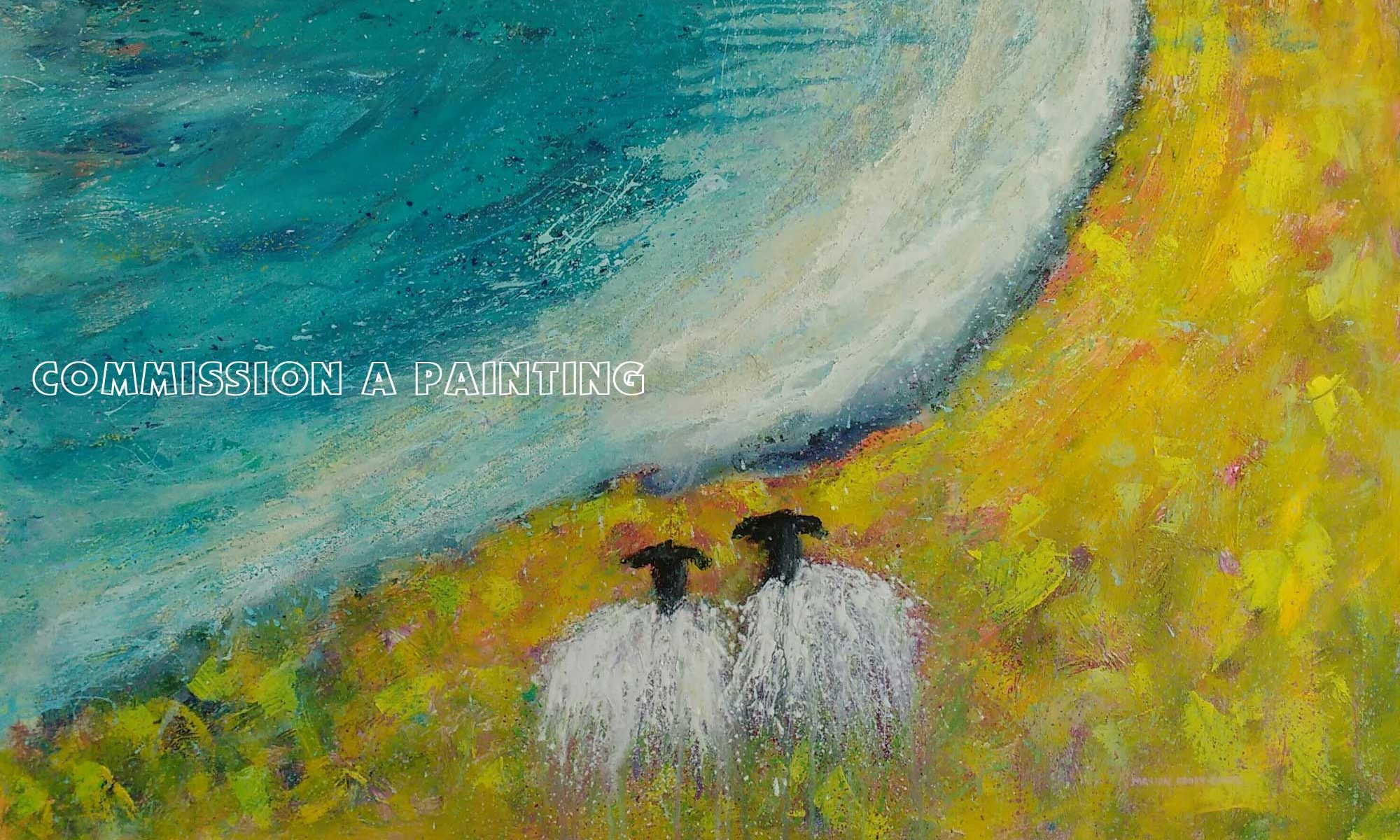 Commission a Painting by Skye artist Marion Boddy-Evans in Scotland