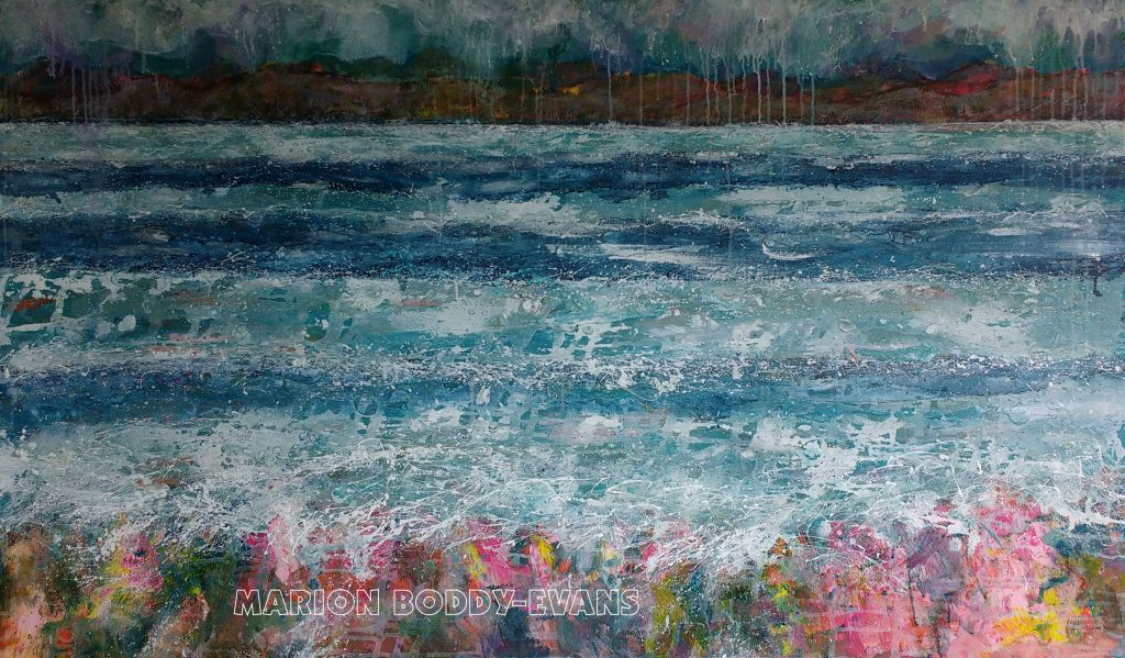 Majestic Minch seascape painting