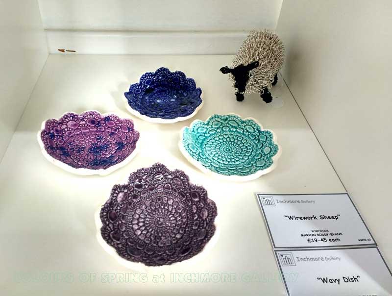 Inchmore Colours of Spring Exhibition Shelagh J Ceramics
