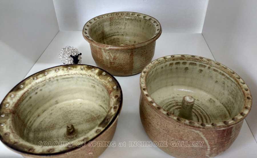 Inchmore Colours of Spring Exhibition Ceramics