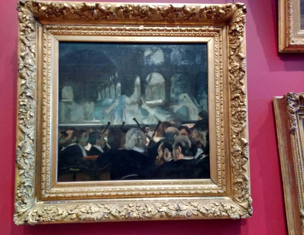 Degas Ballet Painting in V&A 3