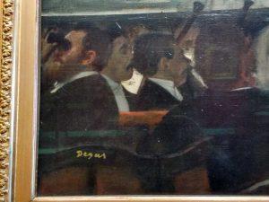 Degas Ballet Painting in V&A