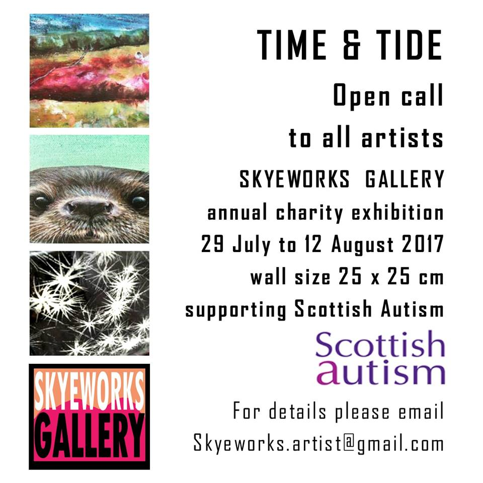 Skyeworks Gallery Charity Exhibition 2017
