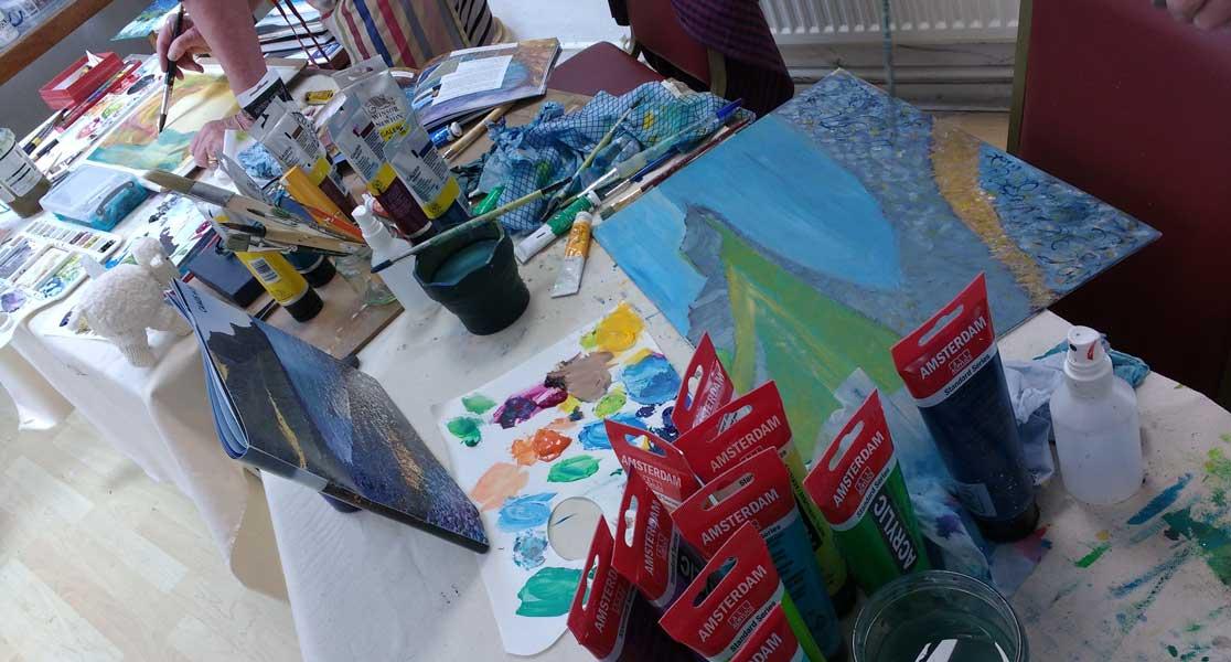 Higham Hall Workshop: Studio Work