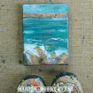 Small Seascape painting by Marion Boddy-Evans