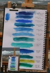 Sea Colours from Tsitsikamma