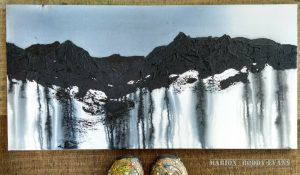 Cuillin painting by Marion Boddy-Evans