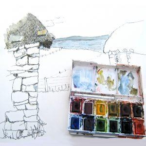 Thatch watercolour set
