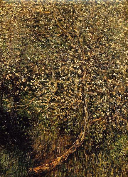 Monet Apples Trees in Blossom