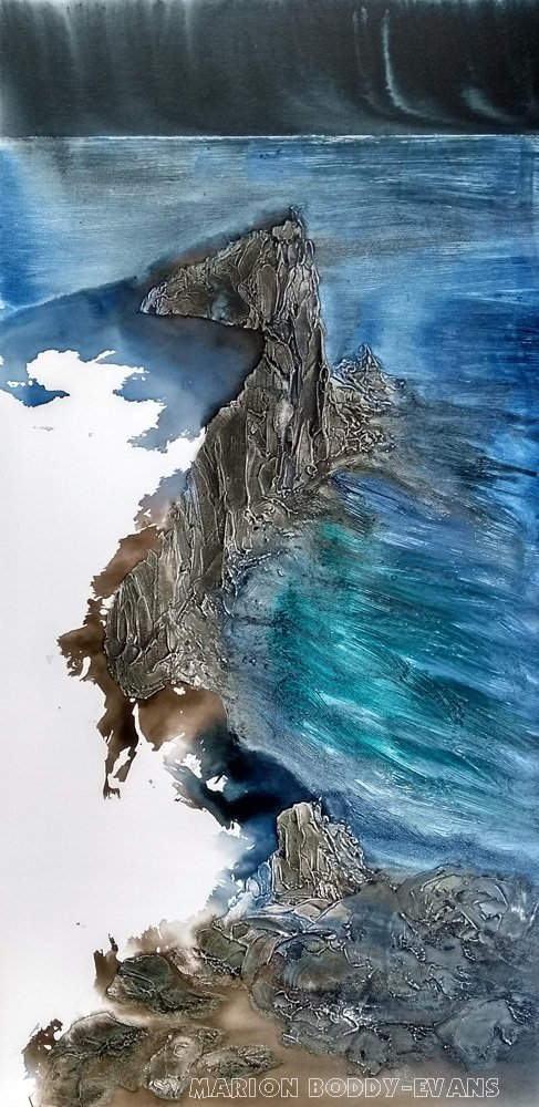 Neist Point painting by Marion Boddy-Evans