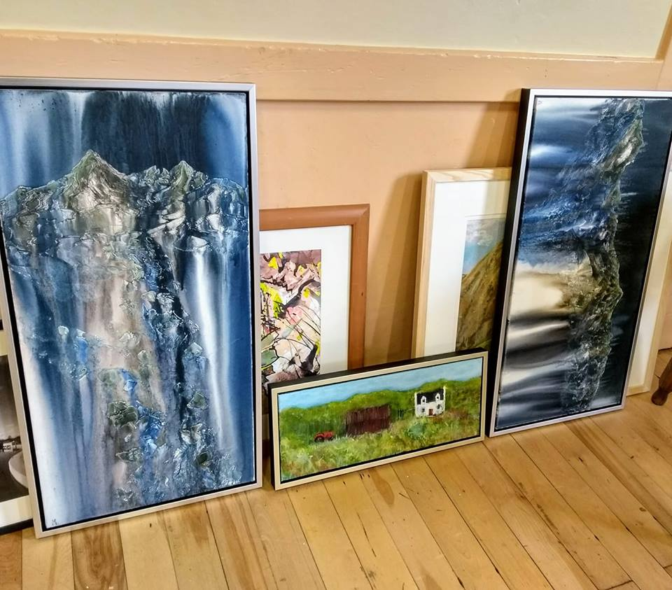 Lochalsh Art Fair Submissions 2018 by Marion Boddy-Evans