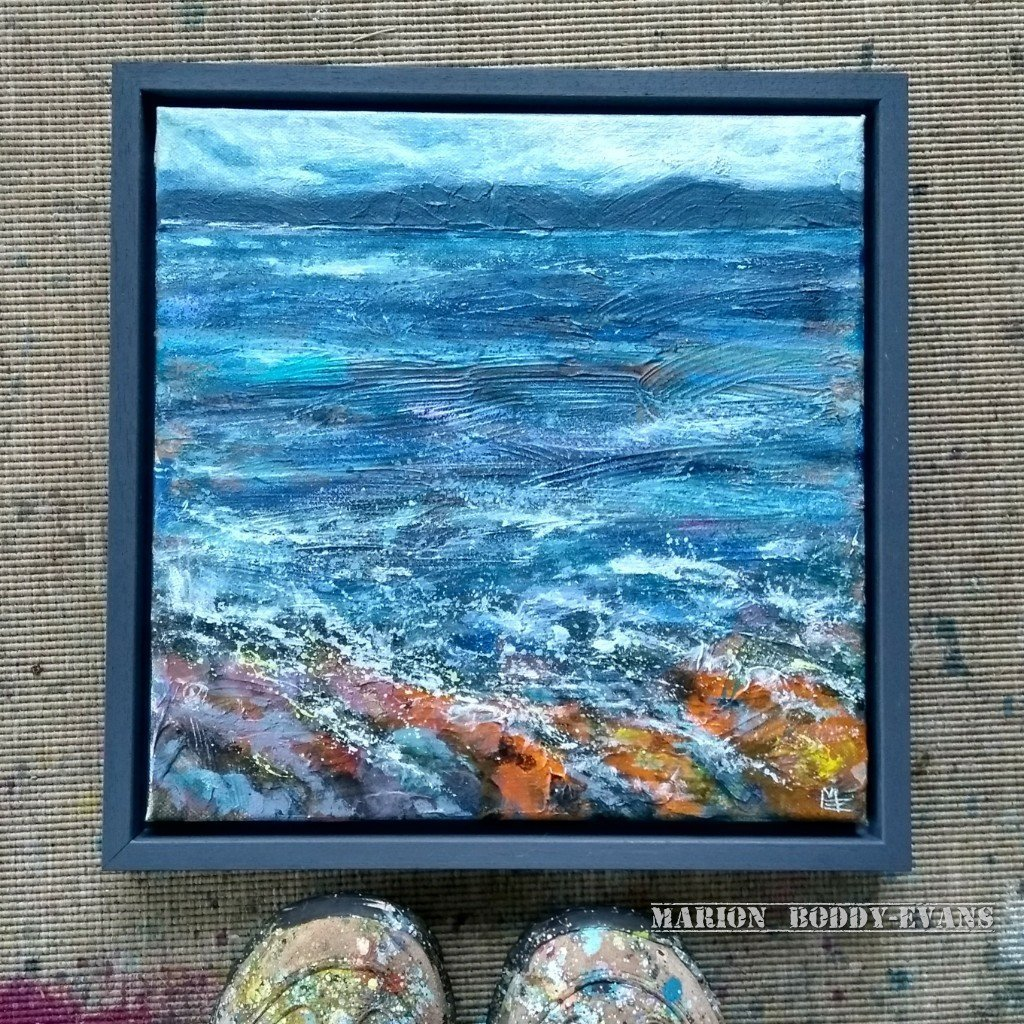 Across the Sea painting