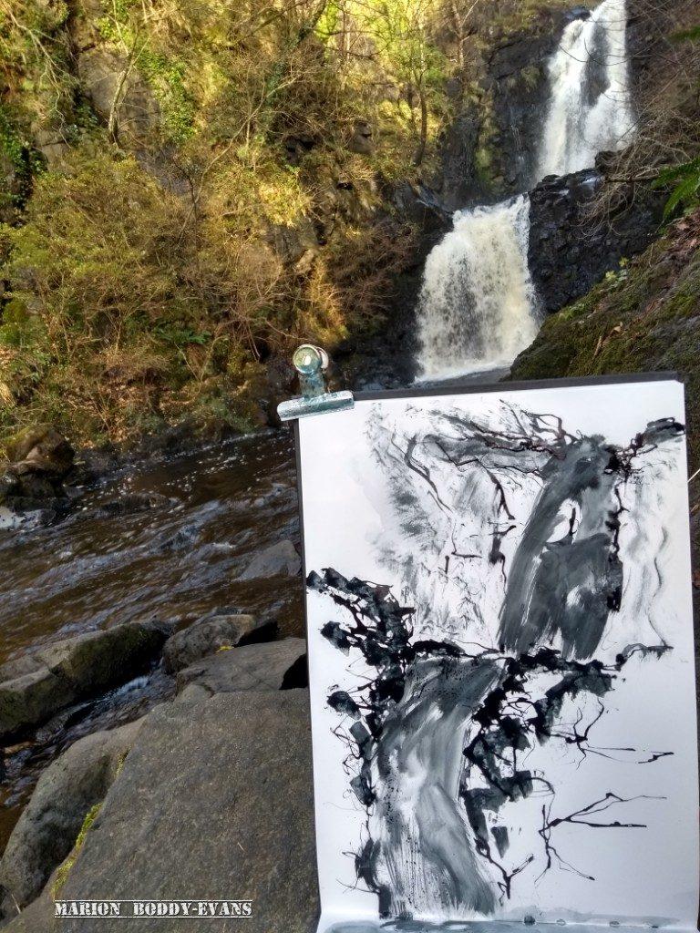 Sketching River Rha