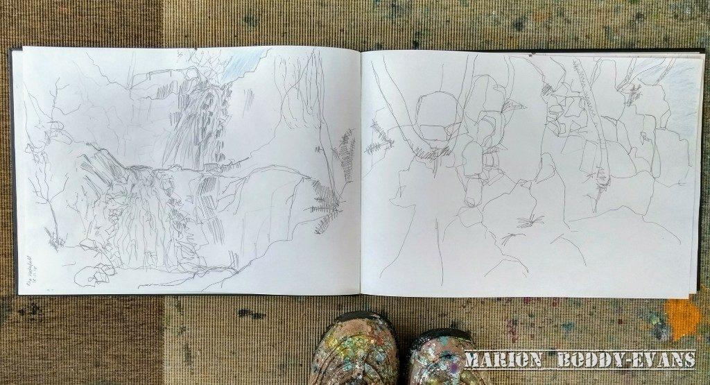 Sketchbook Marion Boddy-Evans