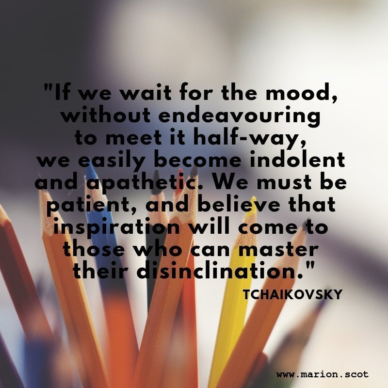 Motivator quote Tchaikivsky