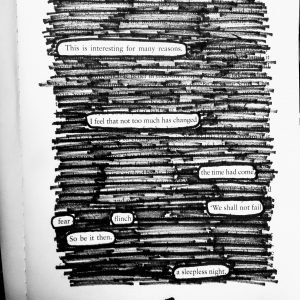 Redaction Blackout Poem